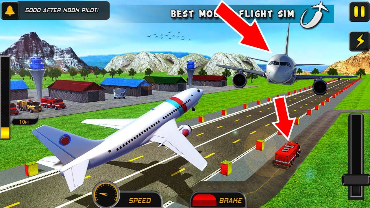 Airport Airplane Parking Game 3D