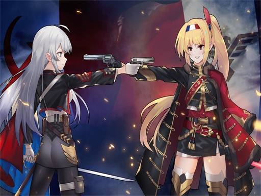 Anime Girl With Gun Puzzle