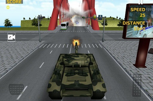 Army Tank Driving Simulation Game