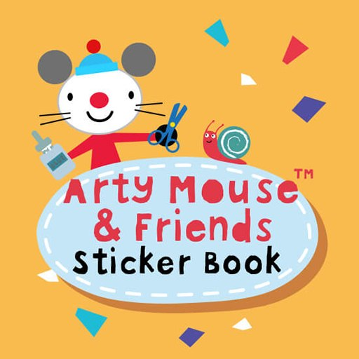 Arty Mouse Sticker Book