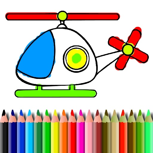 BTS Helicopter Coloring