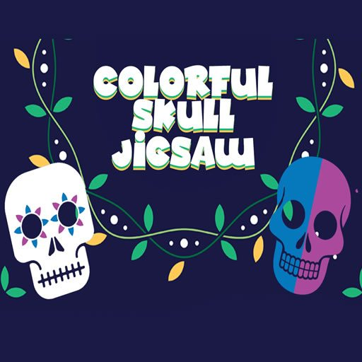 Colorful Skull Jigsaw