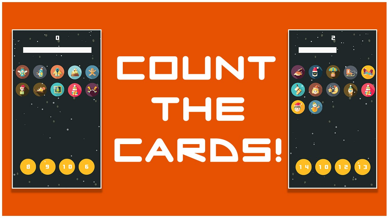 Count the Cards for kids Education
