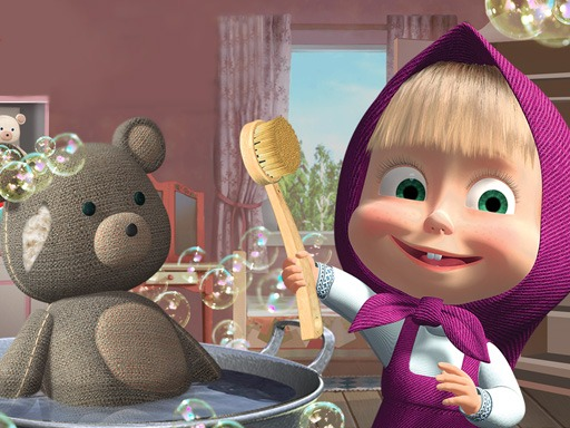 Doll And The Bear Cleaning Game
