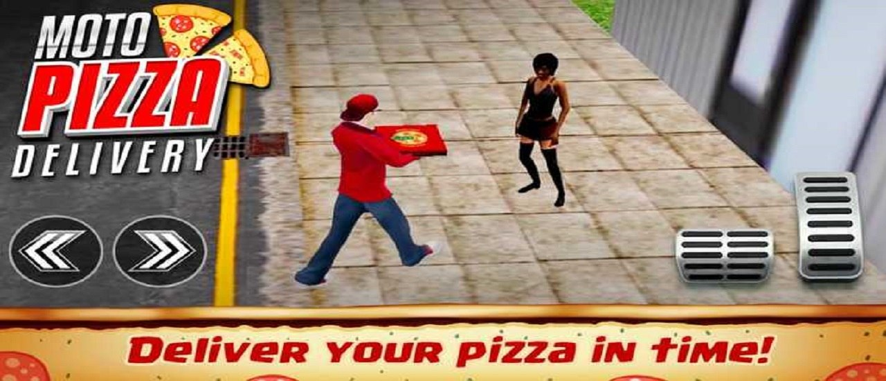 Fast Pizza Delivery Boy Game 3D