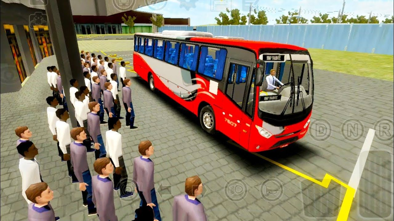 Football Players Bus Transport Simulation Game