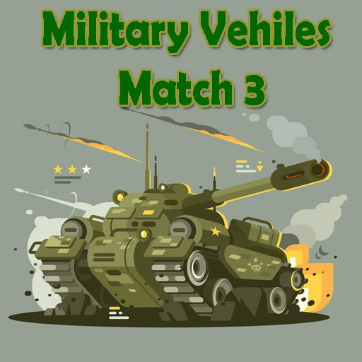 Military Vehicles Match 3