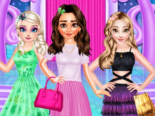 Princesses Different Style Dress Fashion