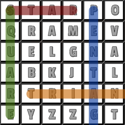 Word Search Shapes