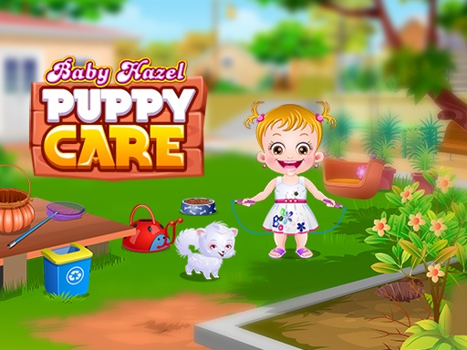 Baby Hazel Puppy Care