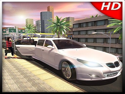Big City Limo Car Driving Simulator Game