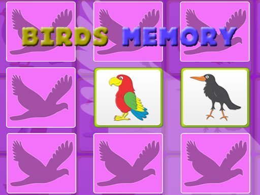 Kids Memory Game – Birds
