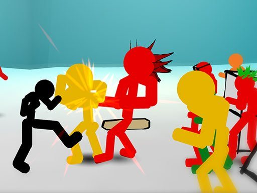 Stickman Street Fighting